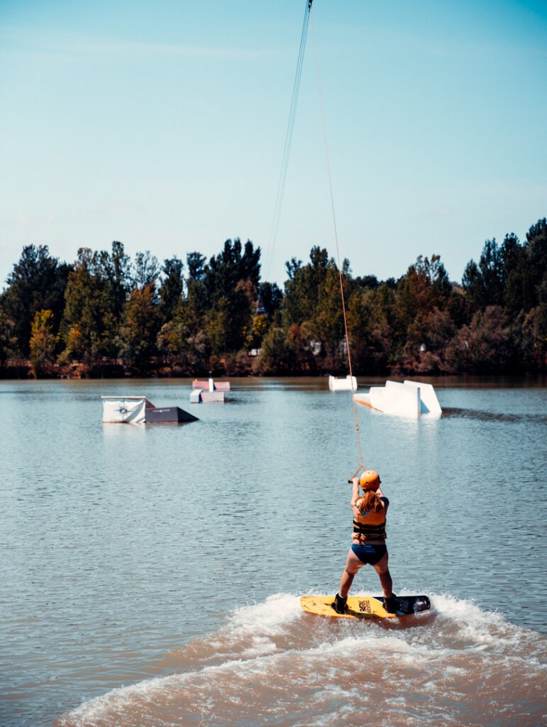 wakeboard parc de la lere