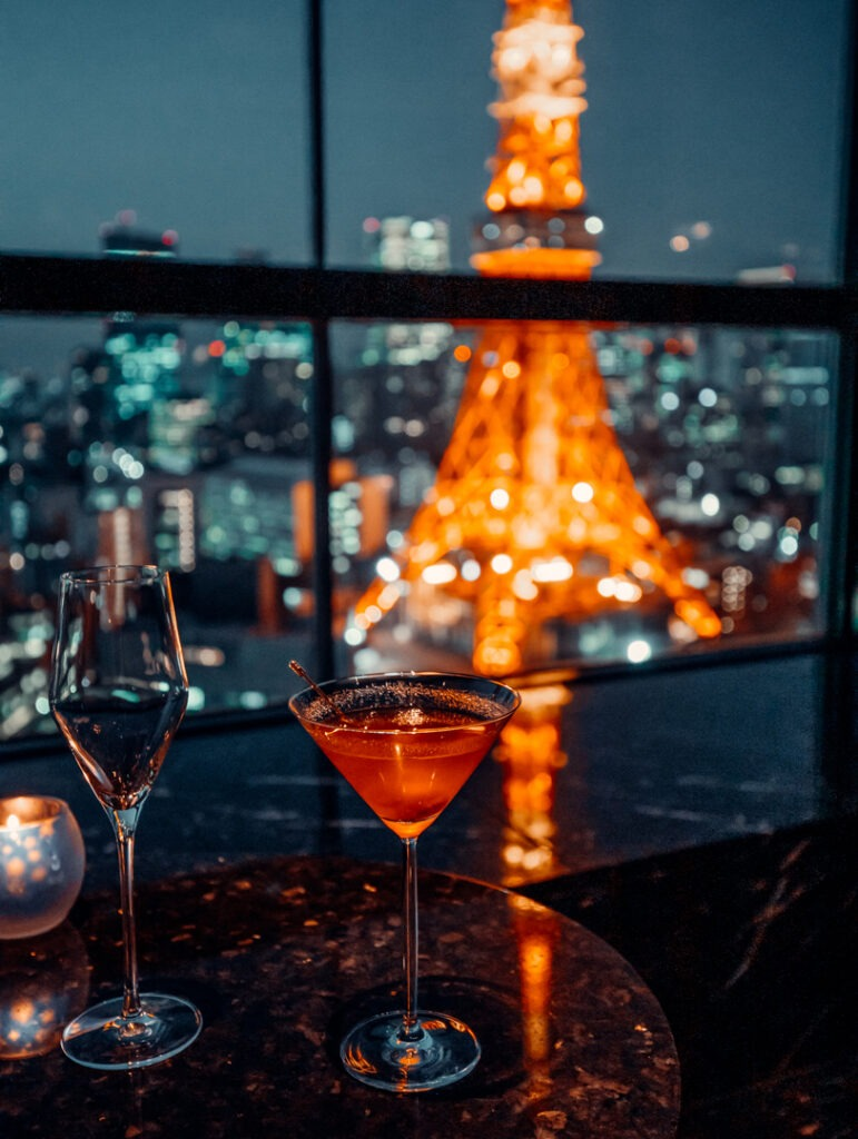 cocktail prince park tower tokyo