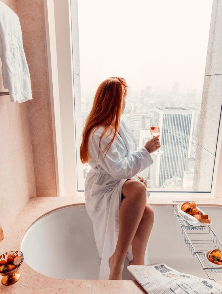 vue salle de bain st regis osaka